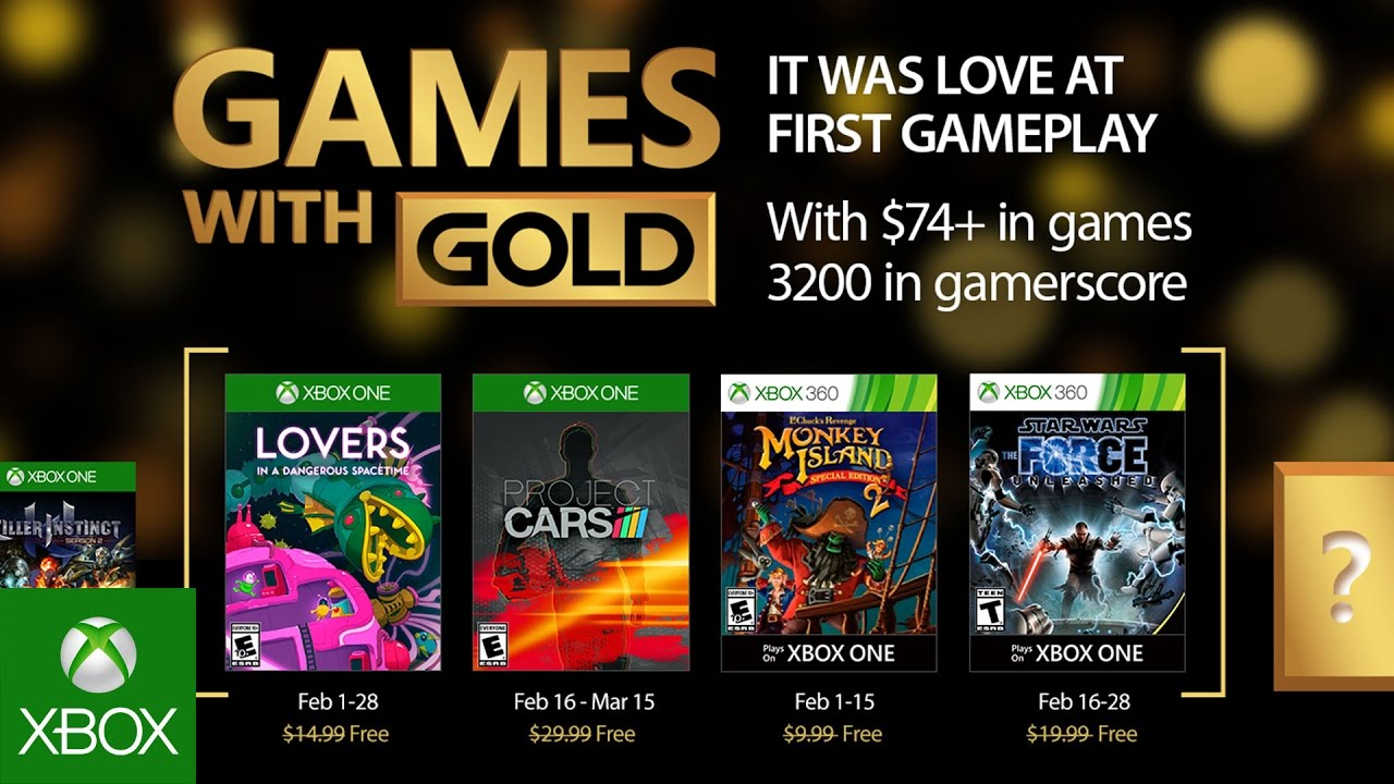 Xbox February 2017 Games With Gold