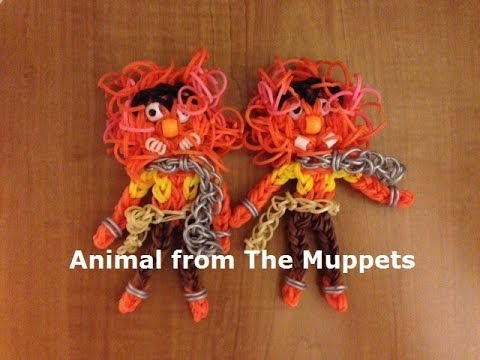 Rainbow Loom Animal or Monster from The Muppets - Original Design