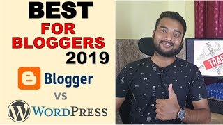 WordPress vs Blogger - Which is Better For Making Money/SEO in Hindi