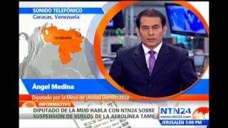 """Venezuela tiene un modelo económico que """"está fallando"""", explica diputado Ángel Medina"""