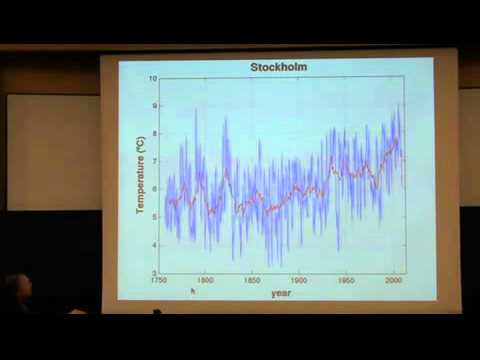 "AlbaNova/Nordita Colloquium 2011-12-13: Richard Muller ""A Reexamination Of Global Warming"""
