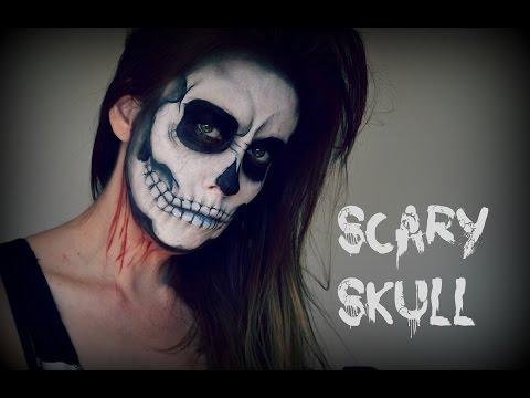 Skull Makeup : Halloween Tutorial