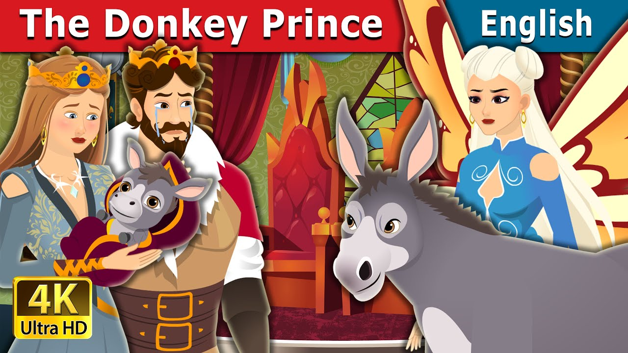 The Donkey Prince Story | Stories for Teenagers | English Fairy Tales