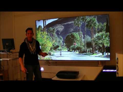 LG-Hecto Laser TV DLP-Projektor