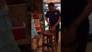 Ко чанг пляж клонг прао кокос шоу  ноябрь 2016