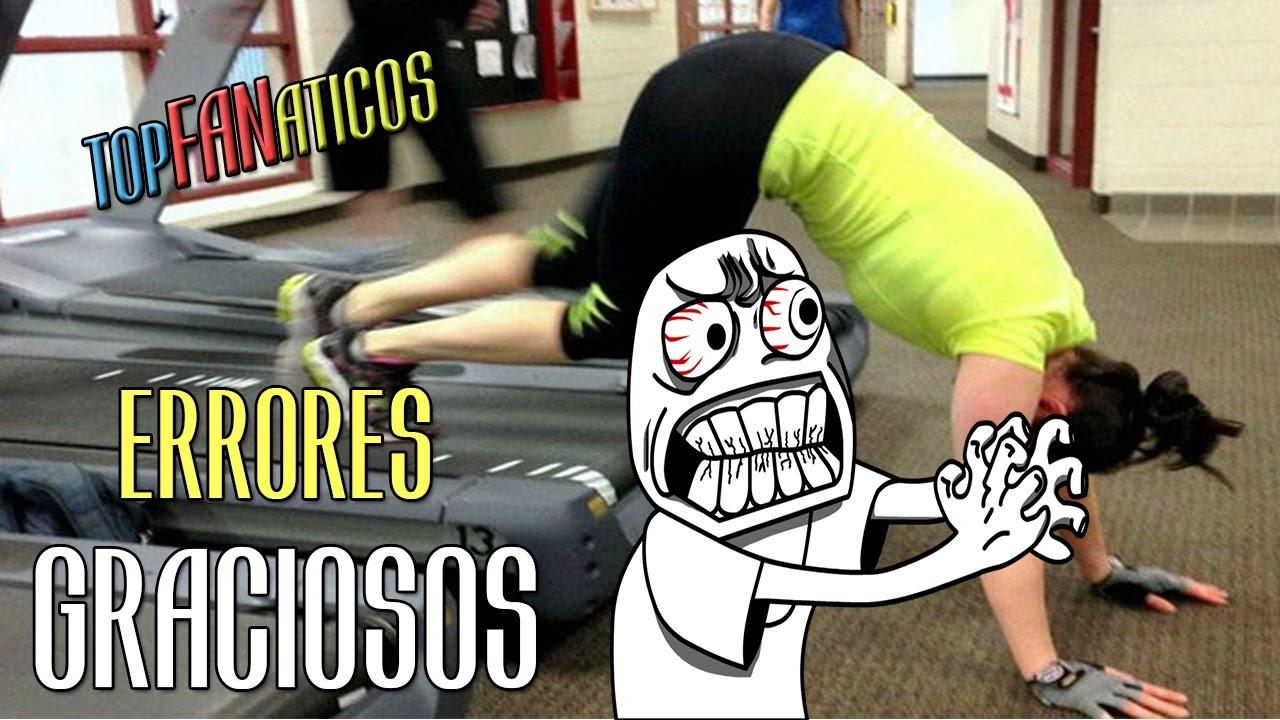 Errores Golpes Y Caidas Graciosas En El Gimnasio Gym Fails