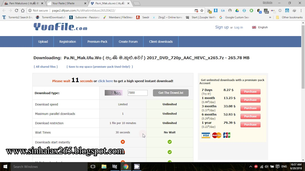 how to download file from Yunfile - YouTube