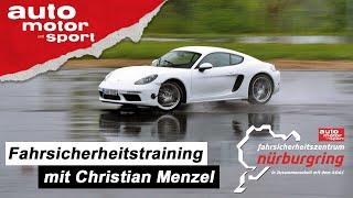 Besser Autofahren! Fahrsicherheitstraining mit Christian Menzel | auto motor und sport