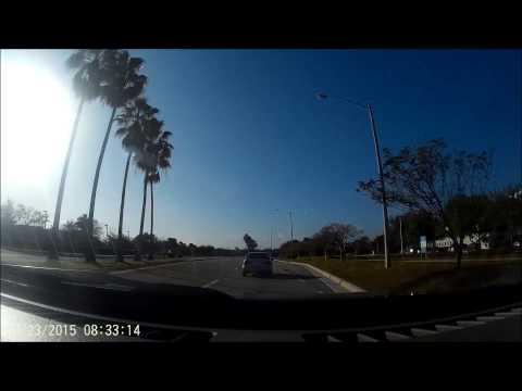 License plate H366SW drunk driver on Hiatus Road - Sunrise, Florida