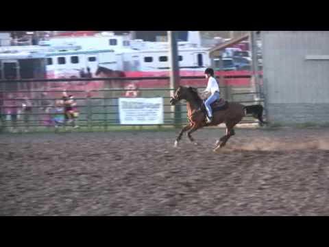 Rachel  Speed & Action race 2009 KCYF horse events