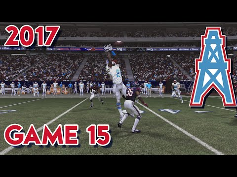 Madden 15 Franchise Mode - Houston Oilers | Season 4, Game 15 @ Texans