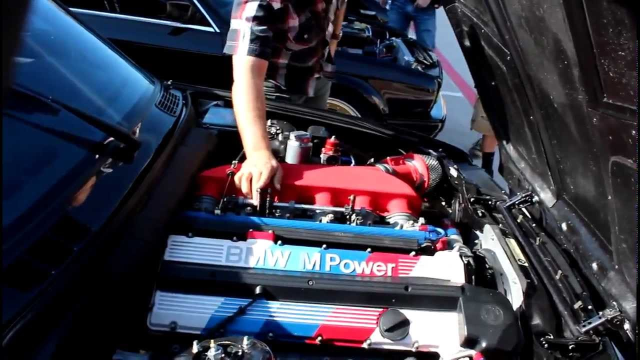 BMW E30 M3 >> Bad ass bmw E30 M3 EVO III S38 SOUND - YouTube