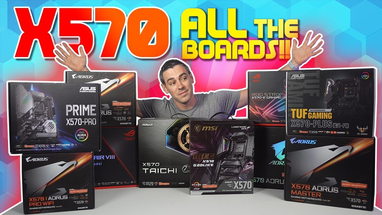 The ULTIMATE AMD X570 Motherboard Roundup Review [11 Motherboards  BENCHMARKED]