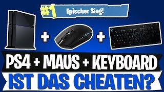 IS THAT CHEATING? | MOUSE & KEYBOARD ON CONSOLE | FORTNITE BATTLE ROYALE English