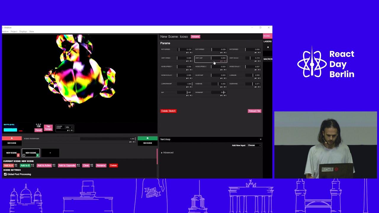 HobbyTrack: How to perform live trippy visuals with WebGL – Alex Kempton
