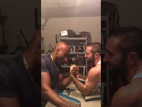 Arm Wrestling Training with jeremy pappy .