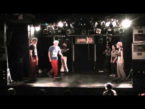 2012.8.18 STRONG STYLE vol.4   WILL FUNK FOR FOOD VS いなごばなな BEST16