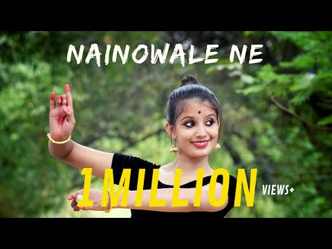 NAINOWALE NE (PADMAAVAT) | Semi- Classical Dance Video |TANISHKA SUTRAKAR|DANCE CHANNEL