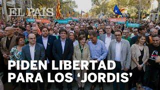 Manifestación en Barcelona por la liberación de los 'jordis' | Cataluña