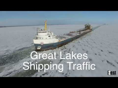 Great Lakes Shipping Traffic 2017/2018