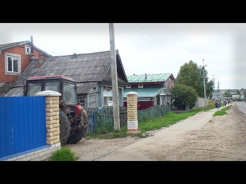 Russian Village Street & The Best Souvenirs From Diveevo