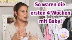 Die ersten 4 Wochen mit Baby | ALINA´S BABY BLOG