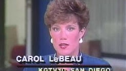 News Anchors of the 80's in San Diego