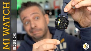 Recensione MI WATCH di XIAOMI tra SMART e FIT