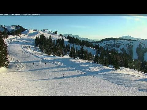 Webcam arrivée du Télésiège des Chavannes - Les Gets
