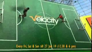 Vertical Soccer Video