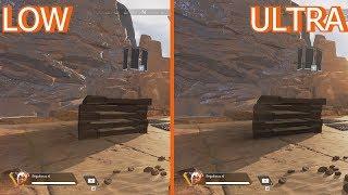 Apex Legends | Graphics Comparison | Low vs Ultra