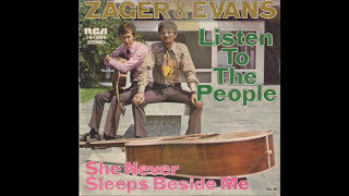 Zager & Evans   Listen To The People Stereo 1970