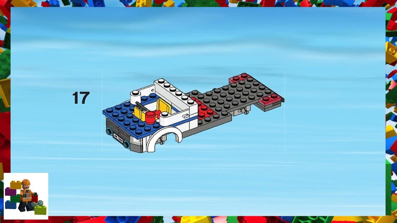 lego police car instructions 7286
