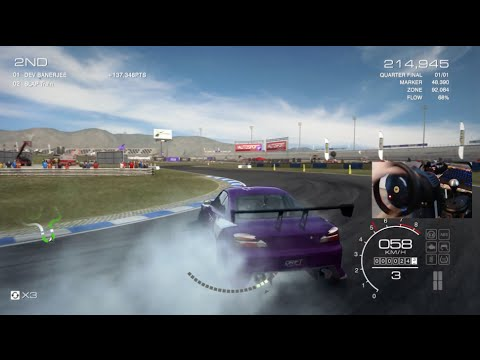 Grid Autosport LP Ep1 -First Thoughts-Drifting Event S13 w/Wheel Cam