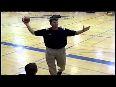 Jim Harbaugh QB Clinic