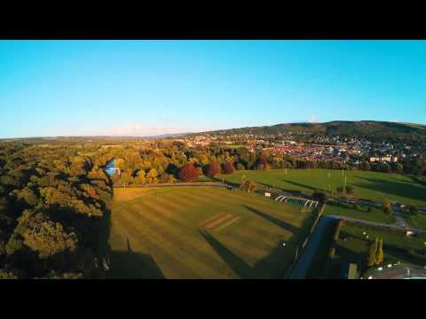 Ilkley Lido Outdoor Swimming Pool FPV Aerial Footage