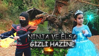 Ninja ve Elsa - GİZLİ HAZİNE  |  (Hidden Treasure)