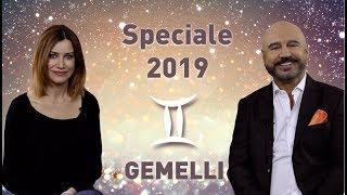 GEMELLI: le previsioni 2019 di Antonio Capitani. Guest star: Giorgia Würth