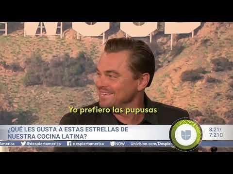 """Leonardo DiCaprio: """"Las pupusas son mejores que los tacos"""""""