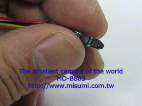 MISUMI MO-B803 Camera Module, Worlds Smallest Camera