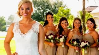 a houston bride her wedding coordinator behind the curtins