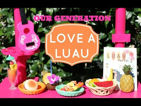 Love A Luau Playset Review