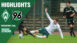Josh Sargent mit Doppelpack & Milot Rashica aus der Distanz | SV Werder Bremen – Hannover 96 3:1