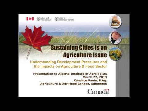 Candace Vanin: Sustaining Cities is an Agricultural Issue