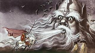Бой Руслана с головой. Пушкин А.С. Автор фильма Биневская Т. Н.