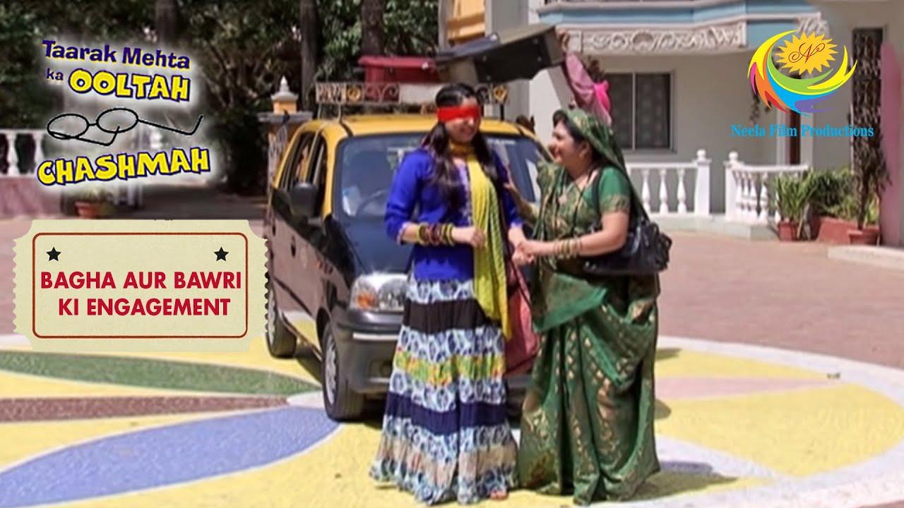 Bawri's Parents Surprise Bawri| Taarak Mehta Ka Ooltah Chashmah | Bagha Aur Bawri Ki Engagement
