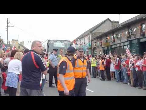 Louth Team leaving Dunleer