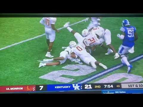 Kentucky football vs. LA Monroe: Live updates, highlights and ...