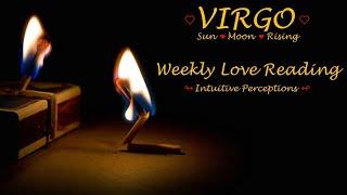 VIRGO - AUGUST 19-25 2018 LOVE TAROT READING