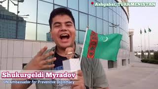 #YOUthAct Talk Show Street Interviews - Ashgabat